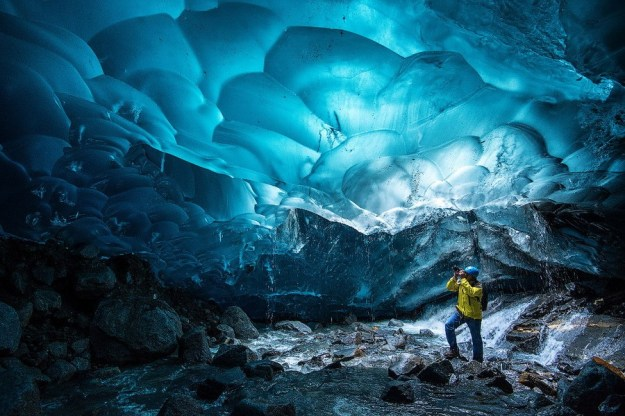 Ледяные пещеры Менденхолл   Топ-10 самых удивительных пейзажей США   Brain Berries