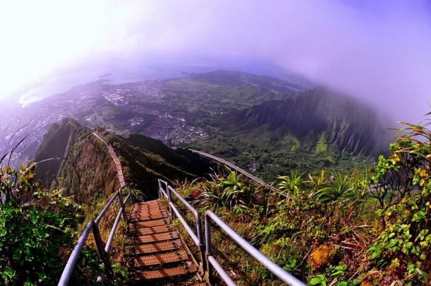 Лестница Хайку    Топ-10 самых удивительных пейзажей США   Brain Berries