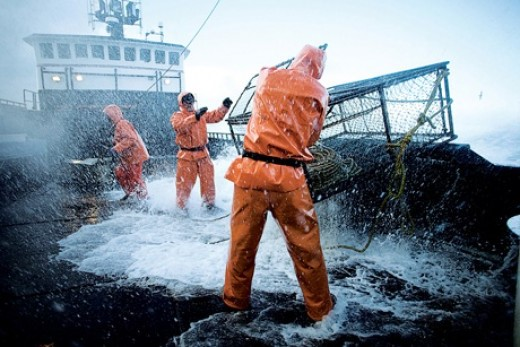 9. High Seas Fishing | Top 9 Most Dangerous Jobs in the World | Brain Berries