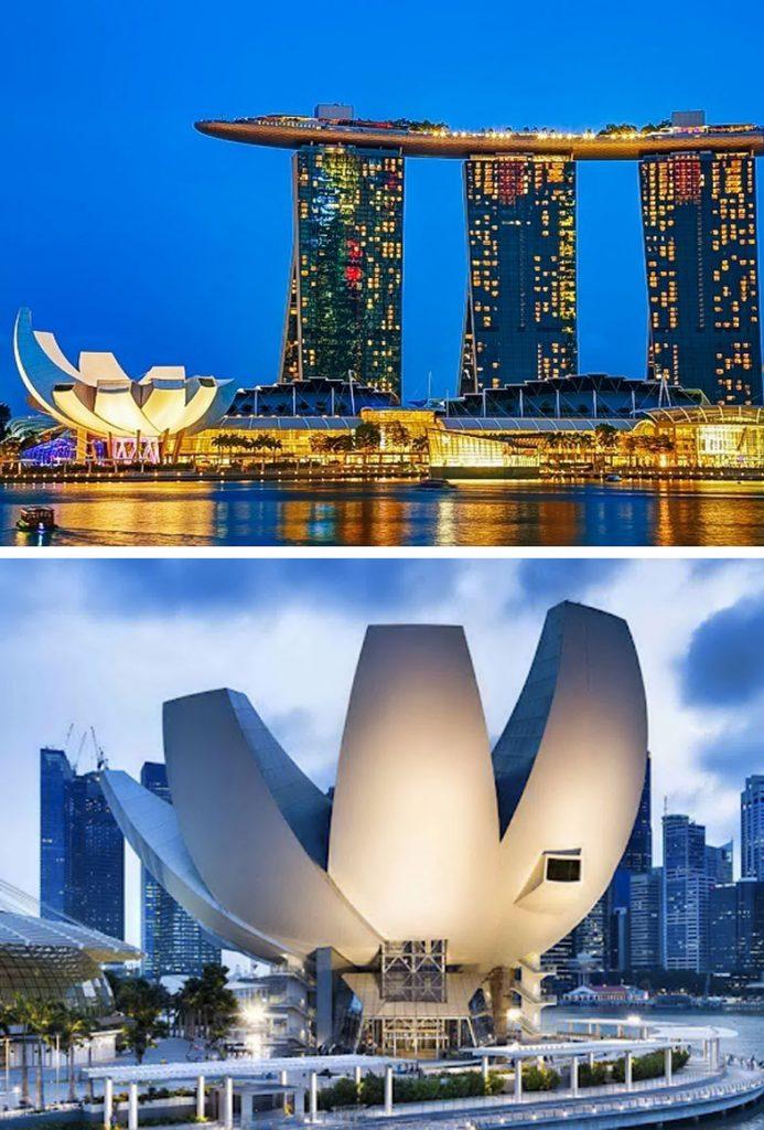 Muzeu ArtScience (Singapor) |  8 ndërtesa të pabesueshme që duken si diçka nga një univers paralel |  Zestradar