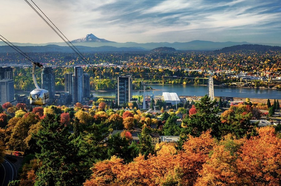 7.Portland, Oregon | Top 10 Spring Holiday Destinations In US For 2020 | Brain Berries