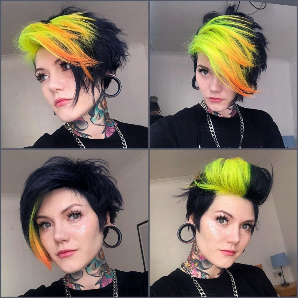 Super-Expressive Rainbow Hairstyles By Snegga #12 | Brain Berries