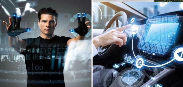 الأجهزة التي تعمل بالإيماءات |  10 اختراعات علمية خيالية انتقلت من الشاشة إلى الحياة الواقعية |  زيسترادار