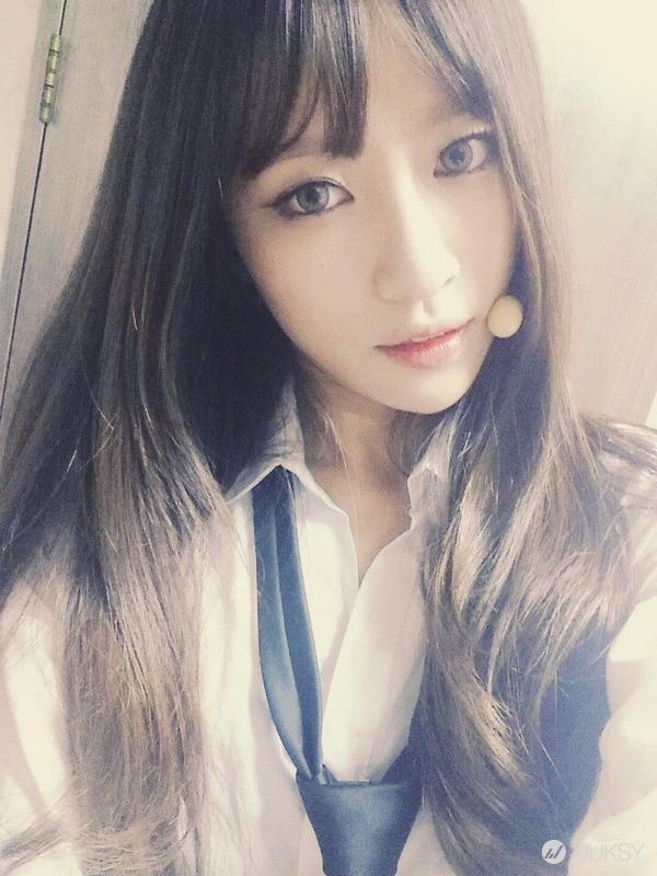 安希妍 - EXID 哈妮Hani、 短髮曝光甜笑美得像花、俏麗蘑菇頭更美艷、韓爆紅新女神上下舞讓凍未條