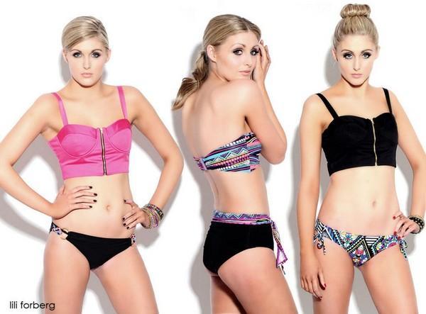 愛爾蘭最美3胞胎 - 世上最美三胞胎性感名模,身高體重三圍都一樣,網友:簡直複製貼上