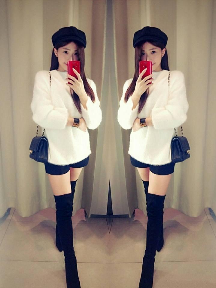 小茜 - VERNA WANG、在知名保險套店擔任小老闆的性感美女