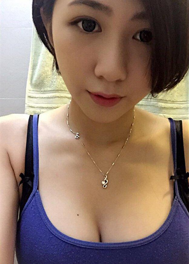 陳思妤 - 台南米樂咖啡店驚現超胸正妹老闆娘、事業線太犯規、事業很大