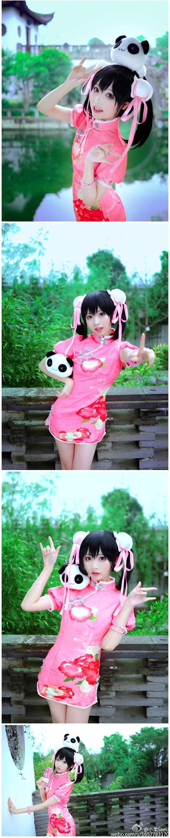 小柔SeeU - 跨越次元之壁CG級甜美萌系美少女Coser成話題、可愛蘿莉插畫家還原度百分百高擬真Cosplay