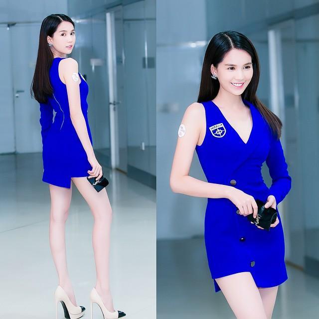 鄧玉貞 - 越南正妹Ngoc Trinh裸色緊身裙像沒穿、越南第一美女撞臉昆凌+Angelababy、身材火辣完美白皙肌膚美到驚艷