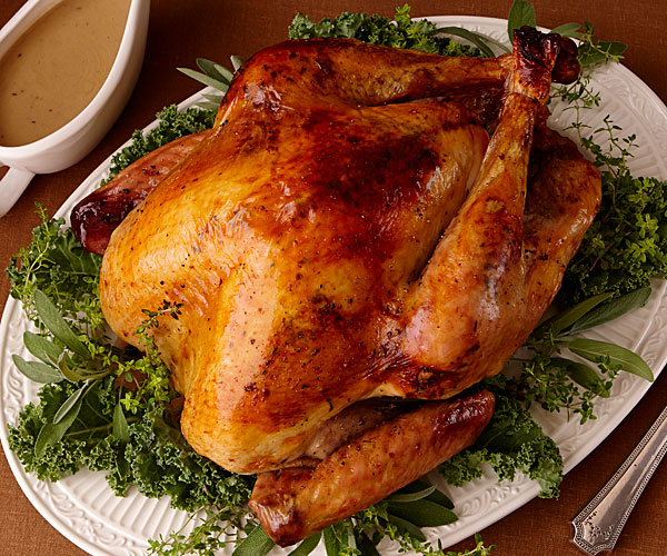 3 White Wine-Marinated Turkey with Ginger and Thyme