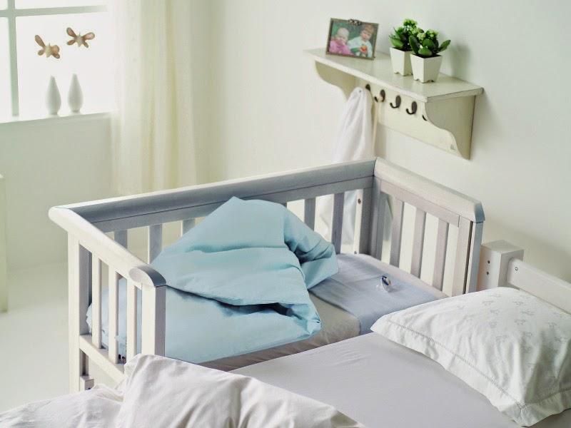7. Bedside crib