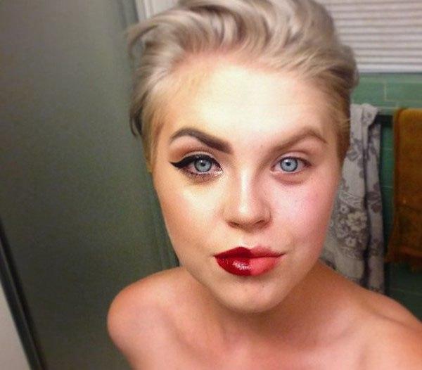 Half Face Makeup Challenge 2
