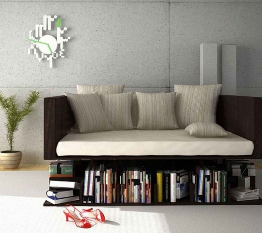 5. Ransa Sofa Floats Over Your Library Of Books