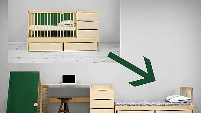 8. Smart Kid A Multifunctional Bedroom Set That Grows With Your Child
