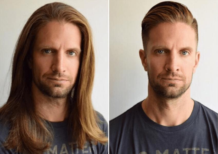 ≡ Long Hair vs Short Hair Men\u0027s Incredible Transformations
