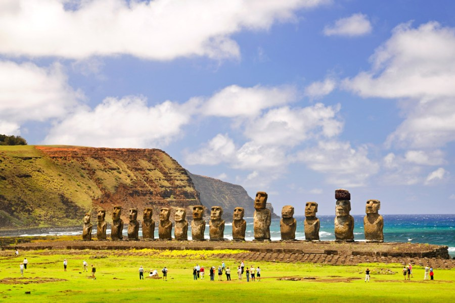 Easter Island, Chile | 10 Perfectly Cool Destinations for When You Just Can't Take the Summer Heat | Her Beauty