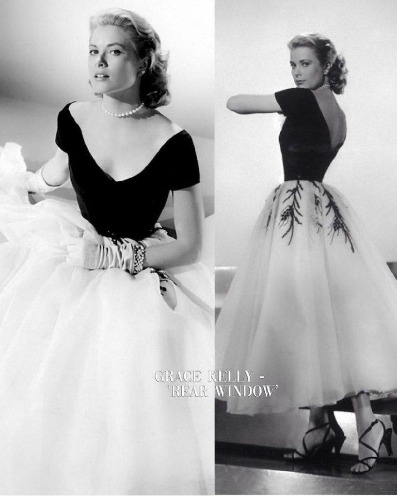 Grace Kelly – Rear Window | 15 Iconic Movie Dresses You Wish You Could Wear | HerBeauty