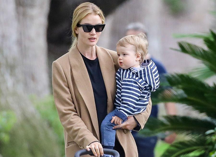 Рози Хантингтон-Уайти с сыном Джеком | Her Beauty