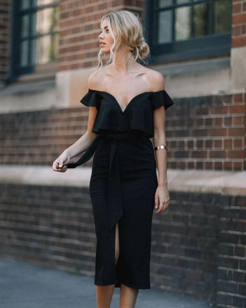 Маленькое черное платье   Летнее платье   Her Beauty