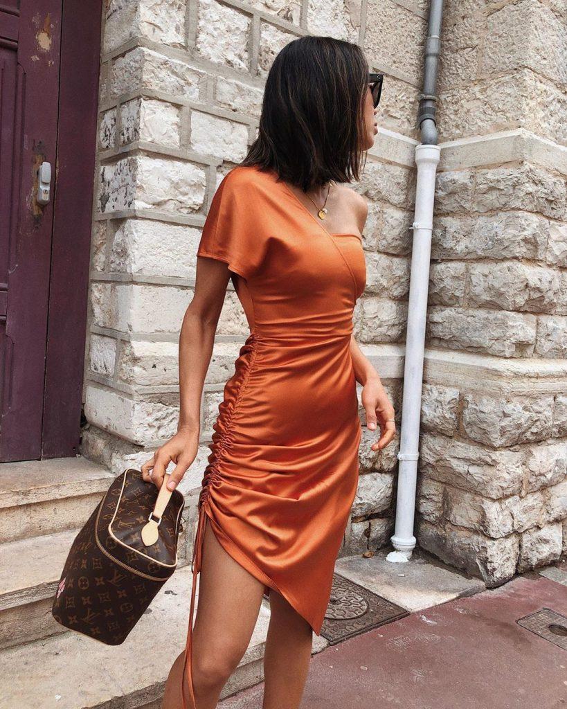 Шелк   Летнее платье   Her Beauty