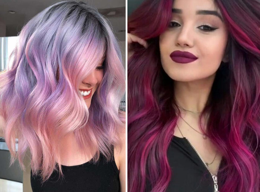 Purple hair | 8 New Beauty Trends Every Stylish Girl Should Follow (No More 6-Pack Abs!) Her Beauty