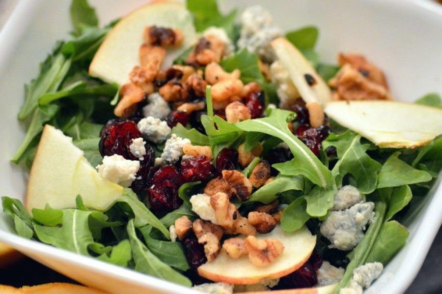 Apple Cranberry Walnut Salad| 6 Best Salads from Around the World Her Beauty