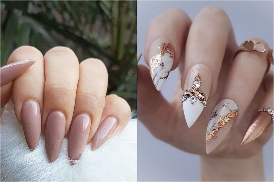 Stiletto   Nail Shapes And What They Say About You   Her Beauty