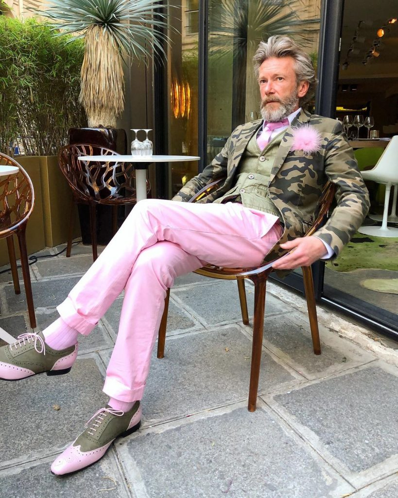 Стиль Пьерика Матона #1   12 фирменных луков стильного француза Пьерика Матона   Her Beauty