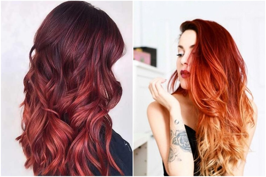 Ombre | 15 Trendy Red Hair Ideas To Try | Her Beauty