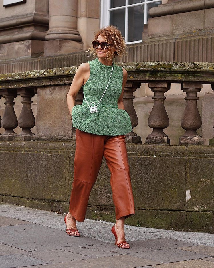 Renata Jazdzyk outfit | 12 Over-50 Women With Ridiculously Good Style | Her Beauty
