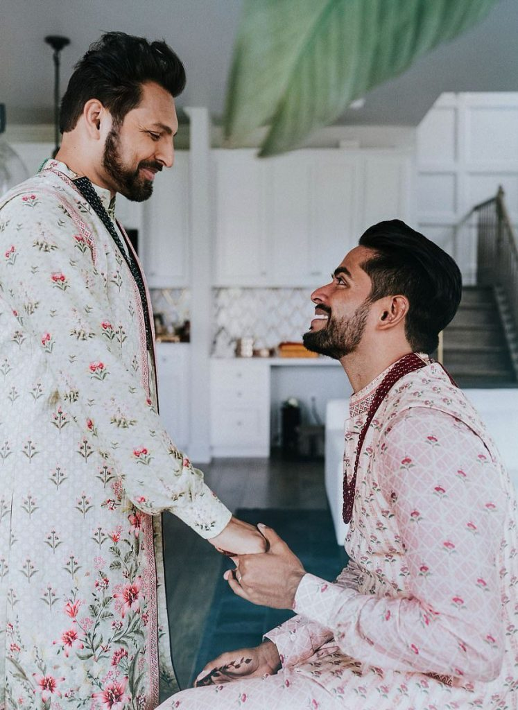 Gay Couple Immortalizes Gorgeous Traditional Indian Wedding #5 | Her Beauty
