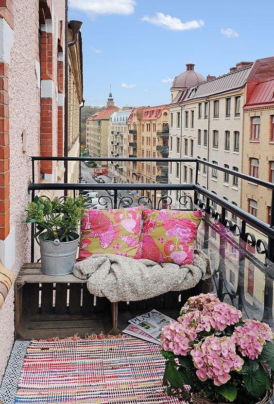 Pillows Balcony #1 | 10 Cozy Balcony Ideas | Her Beauty