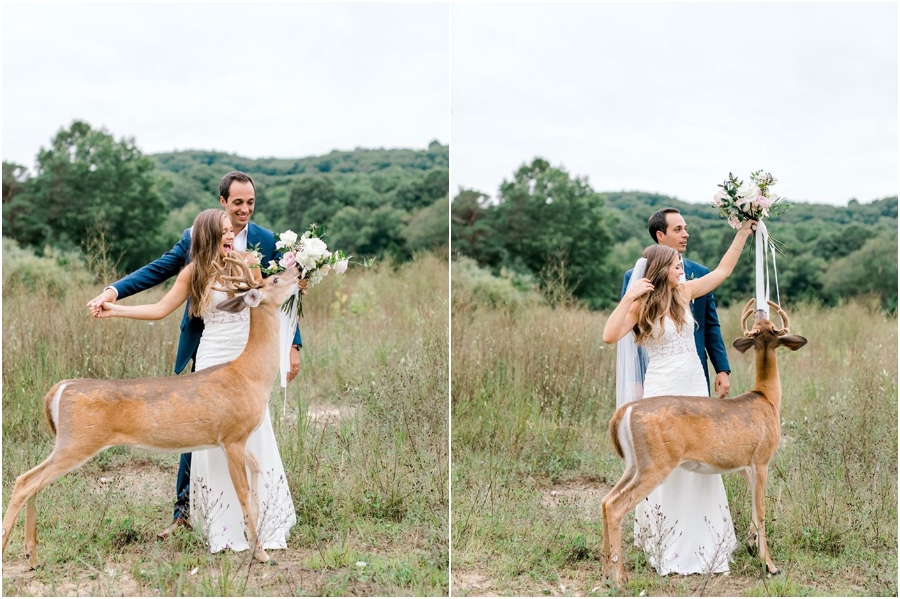 A Wedding Photoshoot To Remember Gets Interrupted By A Deer #5   Her Beauty