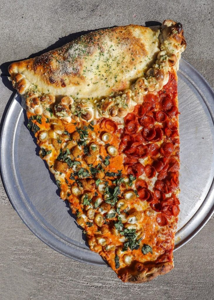 2-foot long slice pizza #2   New Foodie Trend Is A Giant Pizza Slice – The Biggest You've Seen   Her Beauty