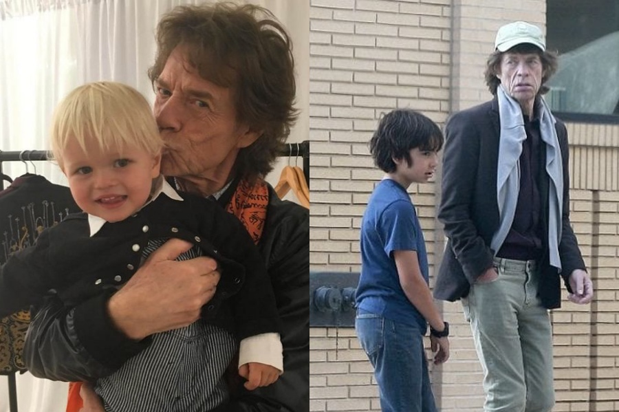 Mick Jagger | 12 Celebrity Grandpas With Their Grandchildren Will Melt Your Heart | Her Beauty