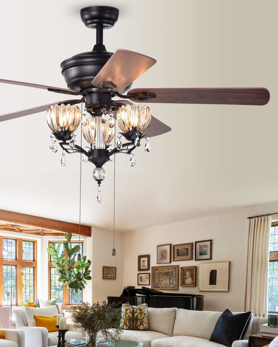 Reverse ceiling fan | 9 Hacks to Stay Warm This Fall | Her Beauty