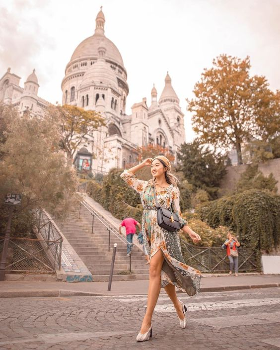 Sacre-Coeur (Sacred Heart) Basilica of Montmartre | 8 Best Places to Visit in Paris | Her Beauty