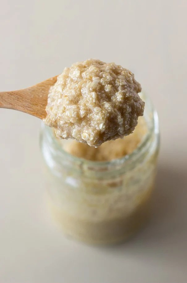 Honey oatmeal salt scrub | 10 DIY Homemade Sea Salt Scrubs Recipes | Her Beauty