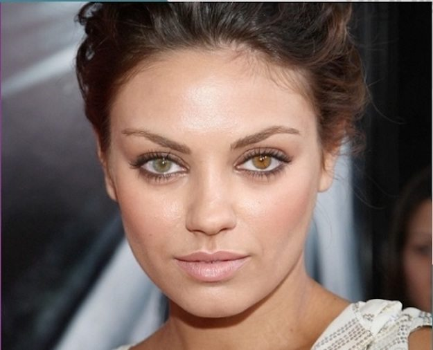 What Color Are Mila Kunis Eyes?   7 Facts About Mila Kunis You Always Wondered About   HerBeauty
