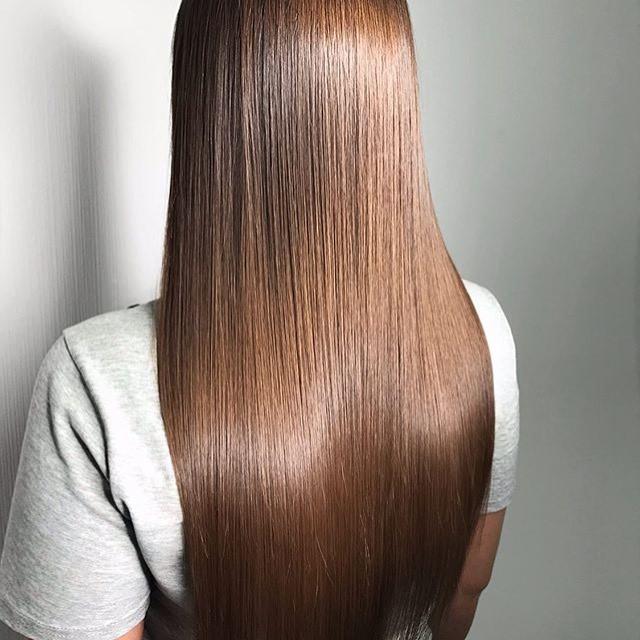 Процедура | Все о кератиновом выпрямлении волос | Her Beauty