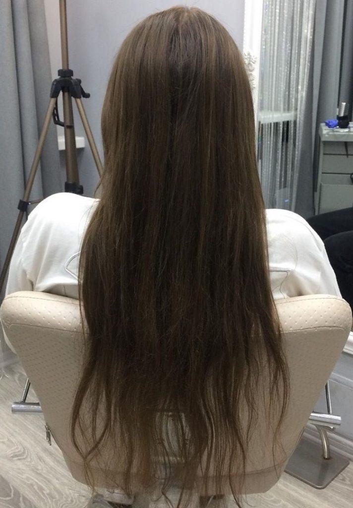 До выпрямления| Все о кератиновом выпрямлении волос | Her Beauty