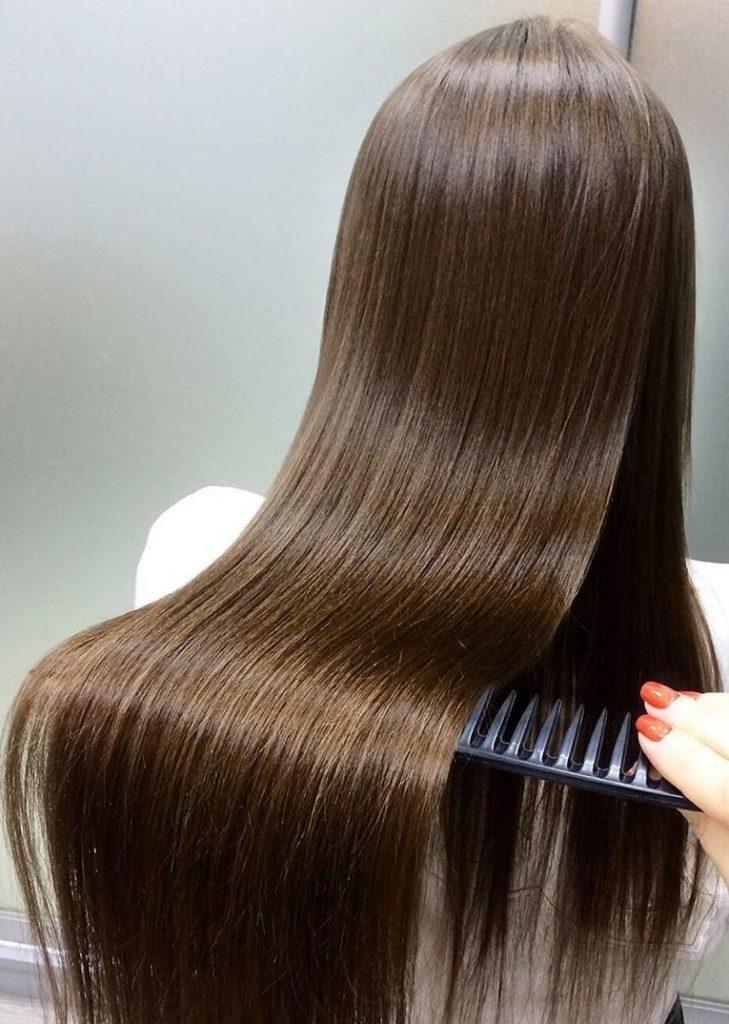 После выпрямления | Все о кератиновом выпрямлении волос | Her Beauty