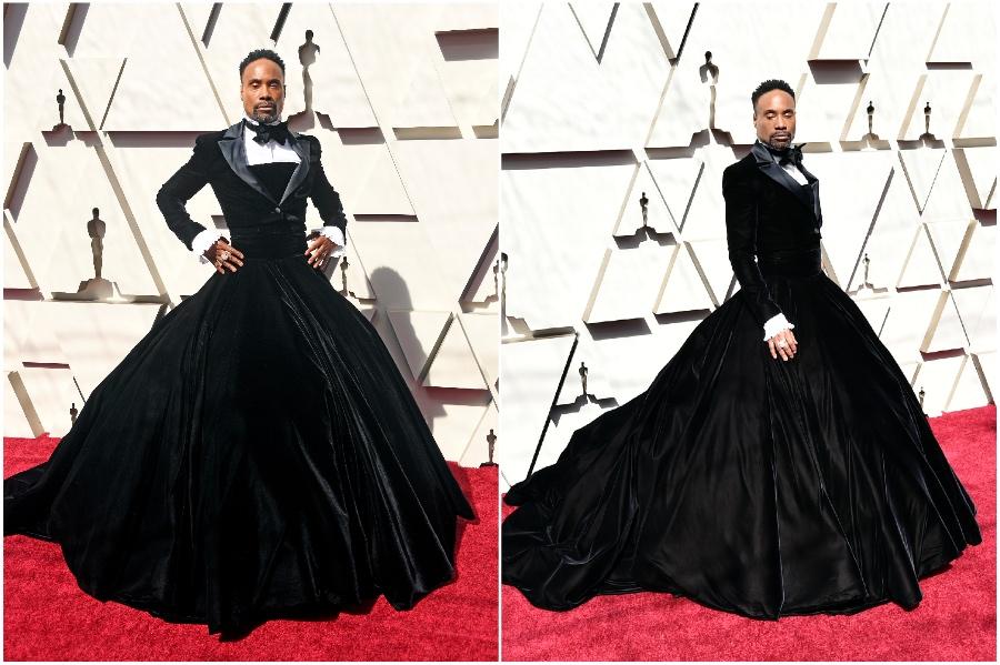 Billy Porter #1  | Fashion Won't Be Genderless Until Men Wear Skirts | HerBeauty