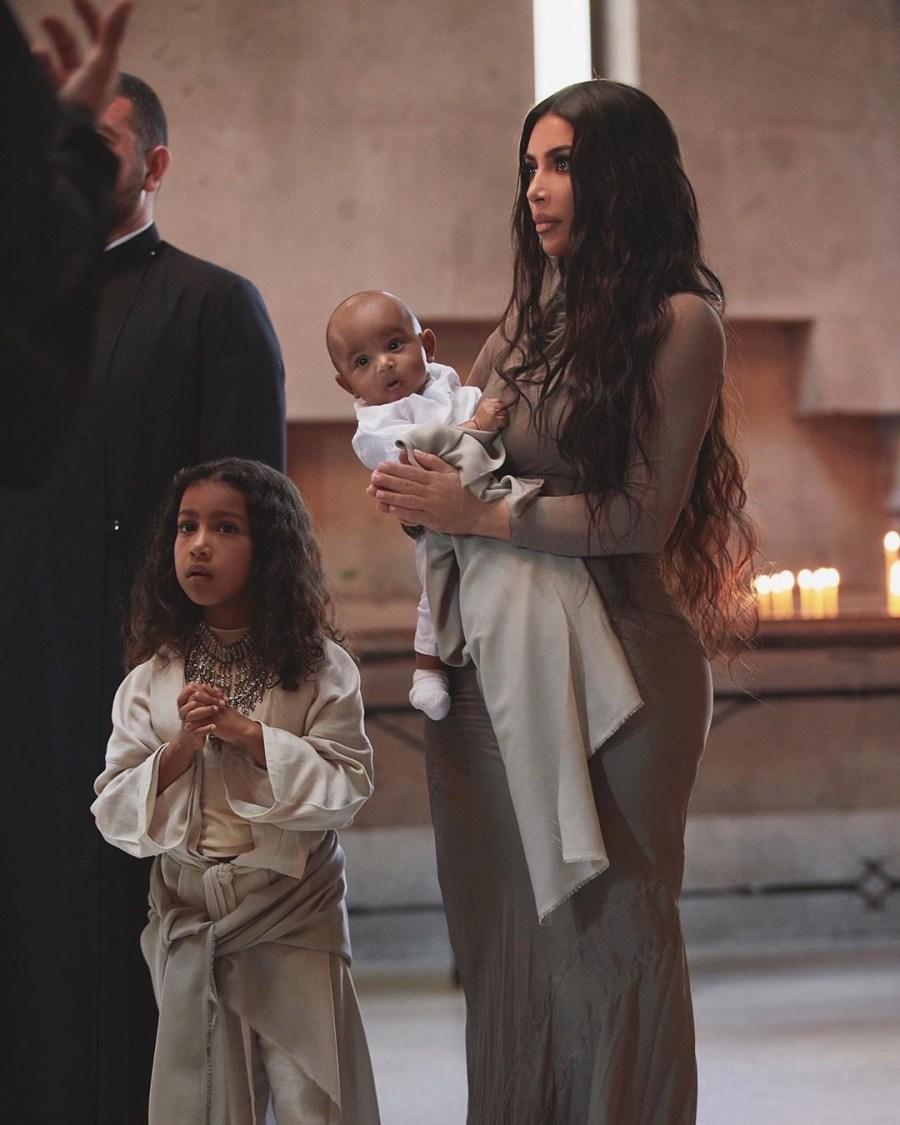 Kim Kardashian And Her Kids Baptized In Armenian Church #1   Her Beauty