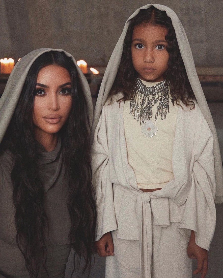 Kim Kardashian And Her Kids Baptized In Armenian Church #6   Her Beauty