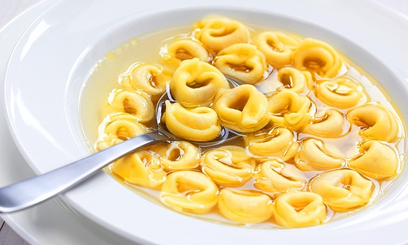 Tortellini en brodo | 6 Most Iconic Foods to Eat in Italy | Her Beauty
