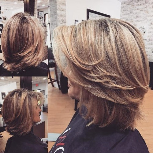 Super modern layered bob   Short Hairstyles For Women Over 50   Her Beauty