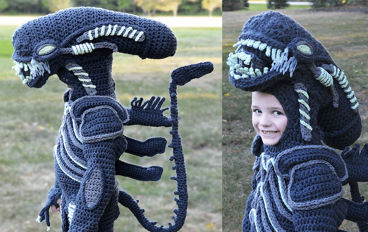 Mom Crochets Incredibly Elaborate Pop Culture Costumes | Her Beauty