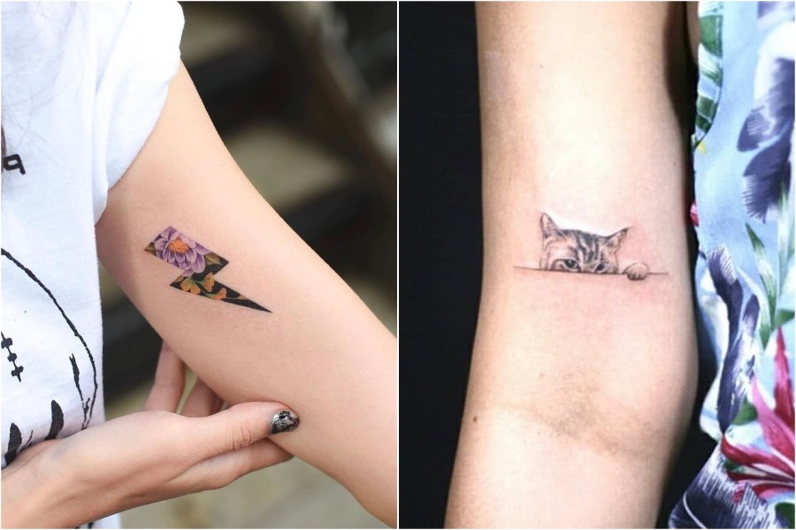 2. Peekaboo Tattoos | Tattoo Trends That Are On The Rise In 2020 | Brain Berries