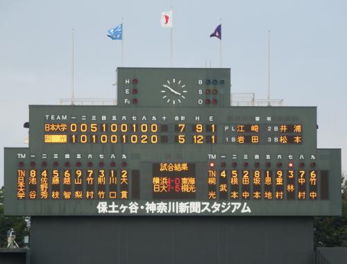2013年秋季神奈川県大会準決勝「日大vs桐光学園」